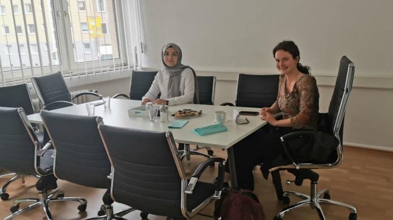 Forschungsgruppe zu Besuch bei RAHMA