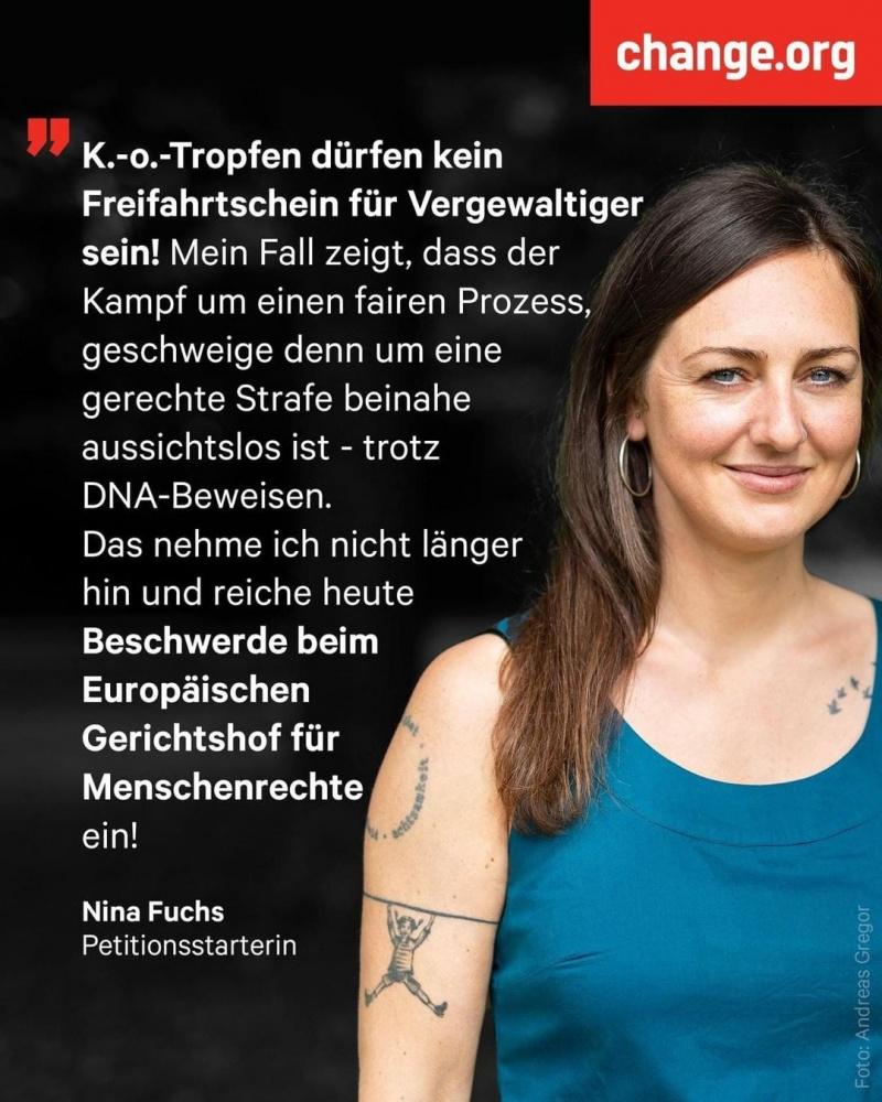 Nina Fuchs unterstützen